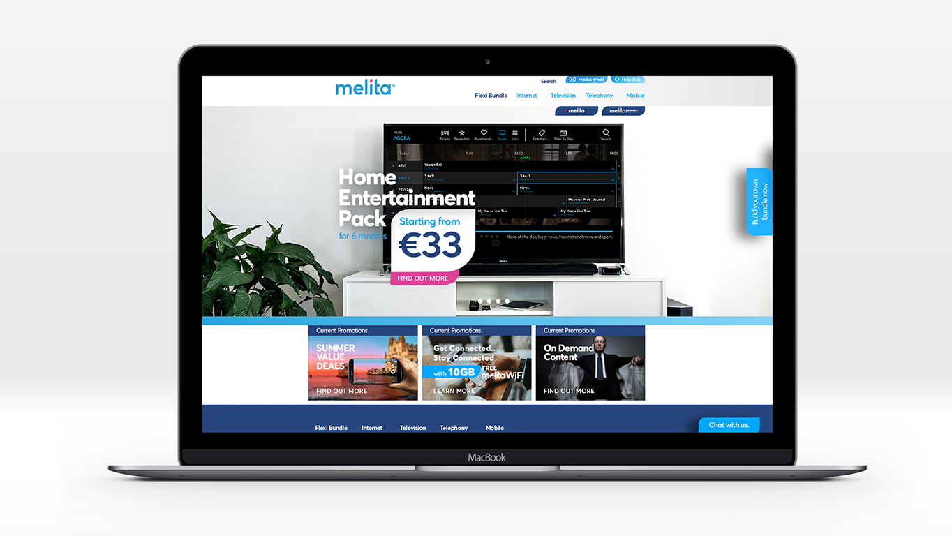 website design and campaign landing pages