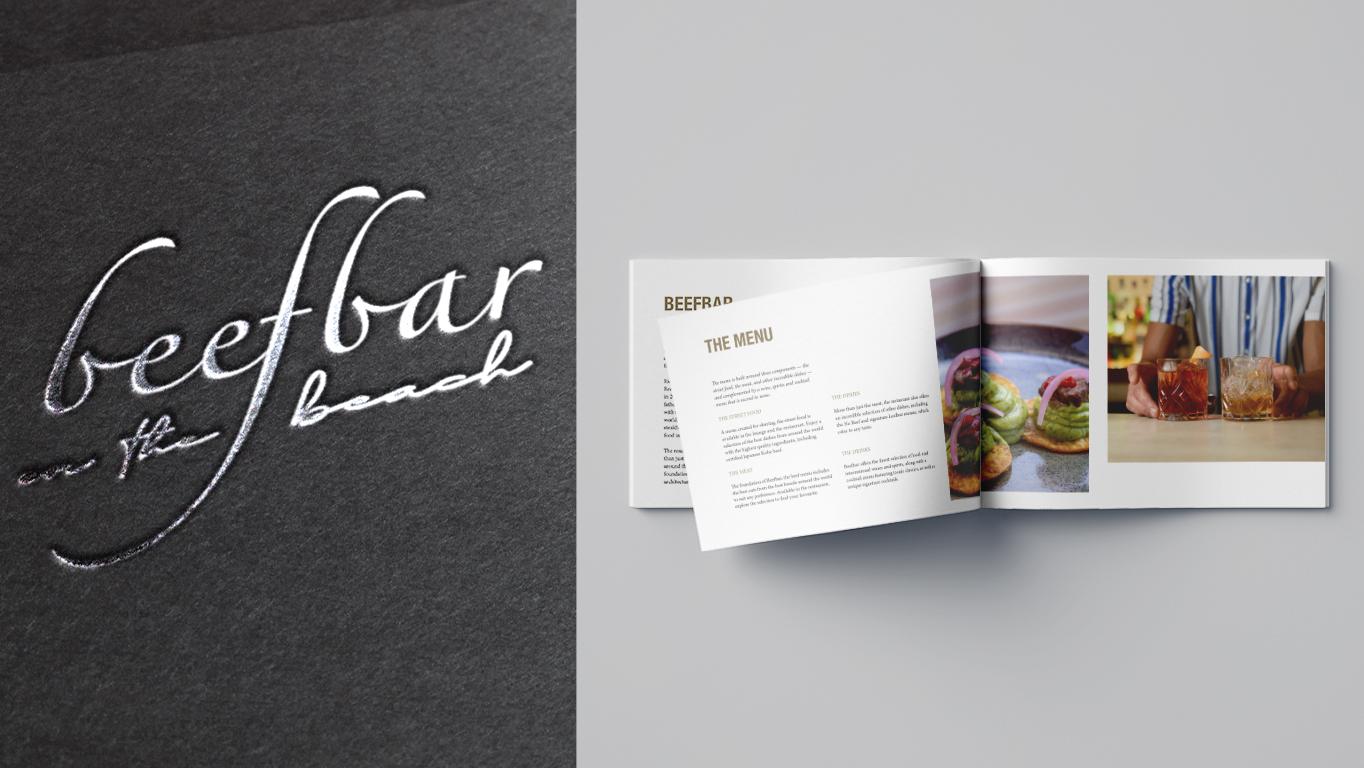 beefbar editorial design