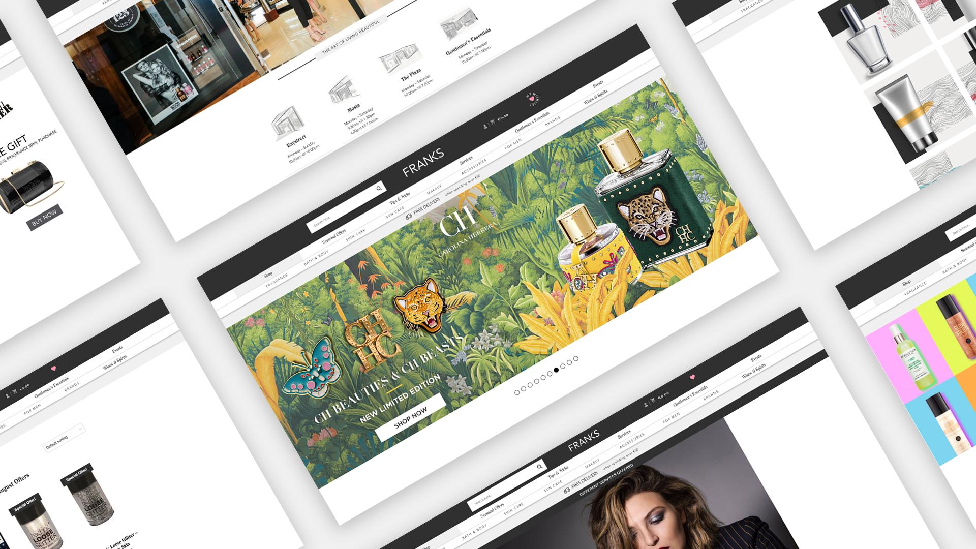 frank web design