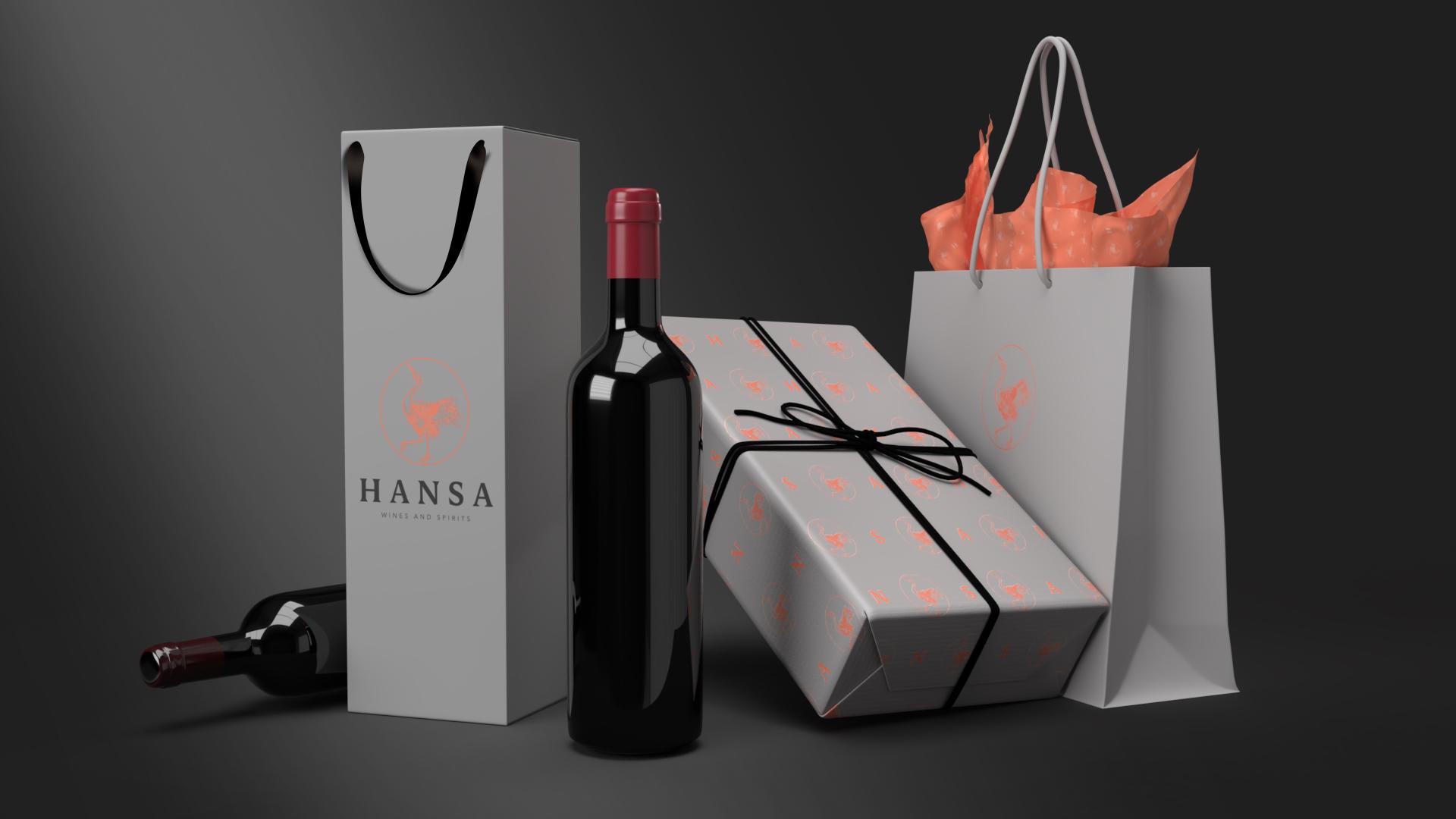 hansa rebranding and packaging design