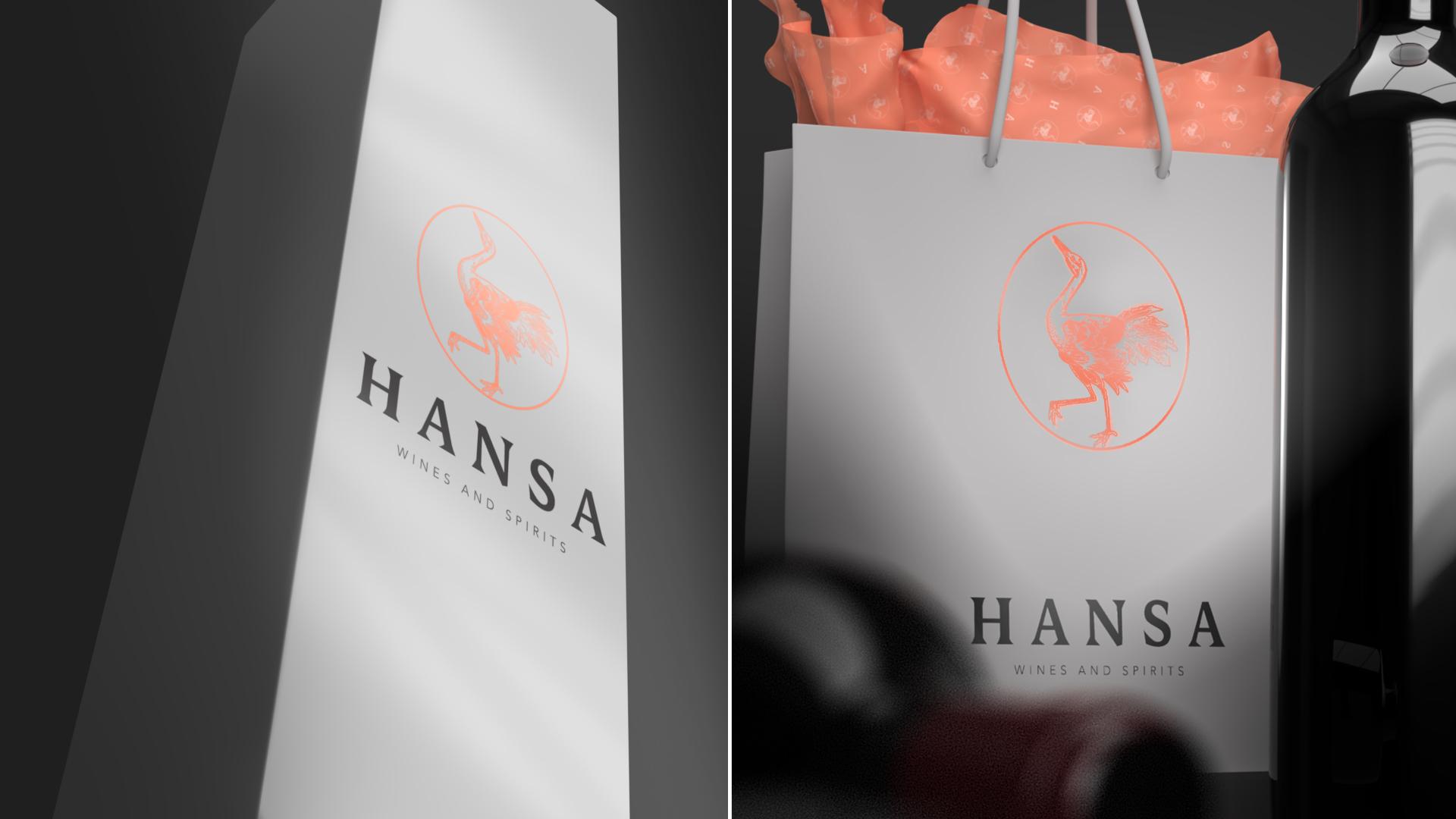 hansa shopping bags