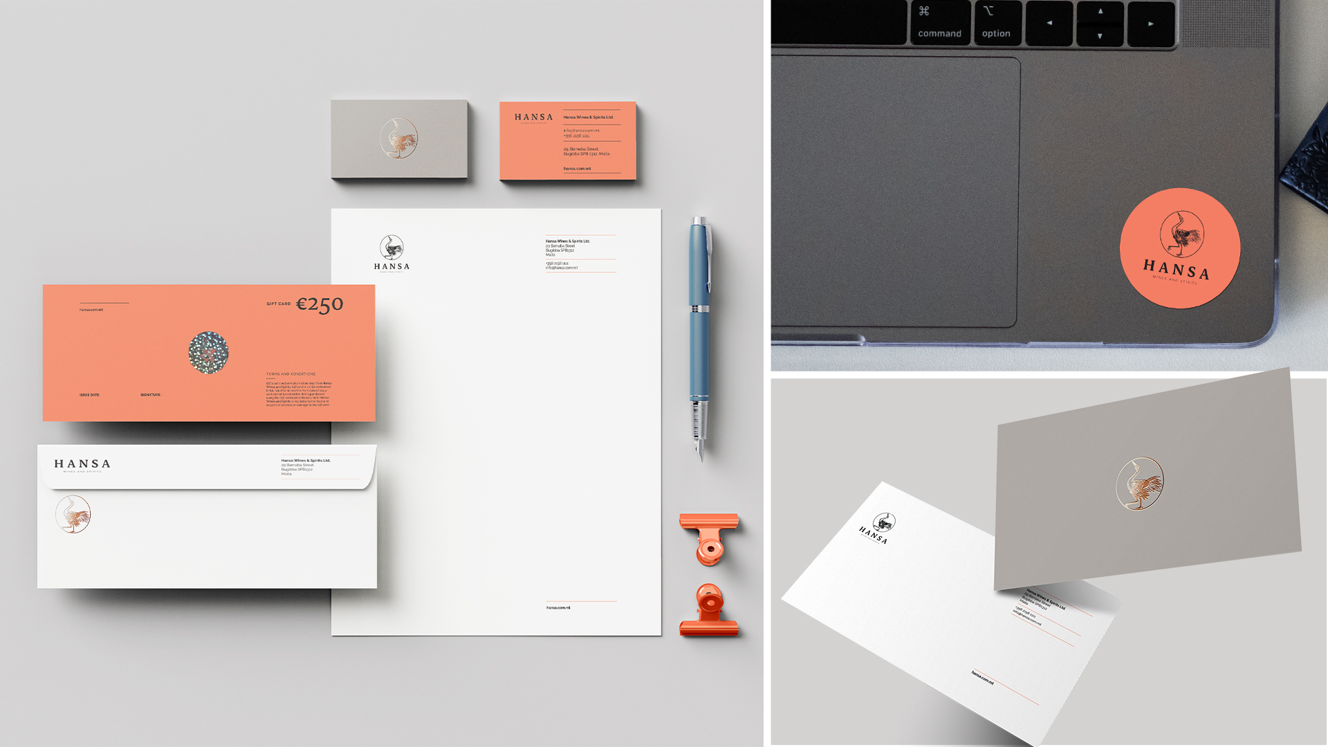 stationary design, letterhead design, voucher design and business cards