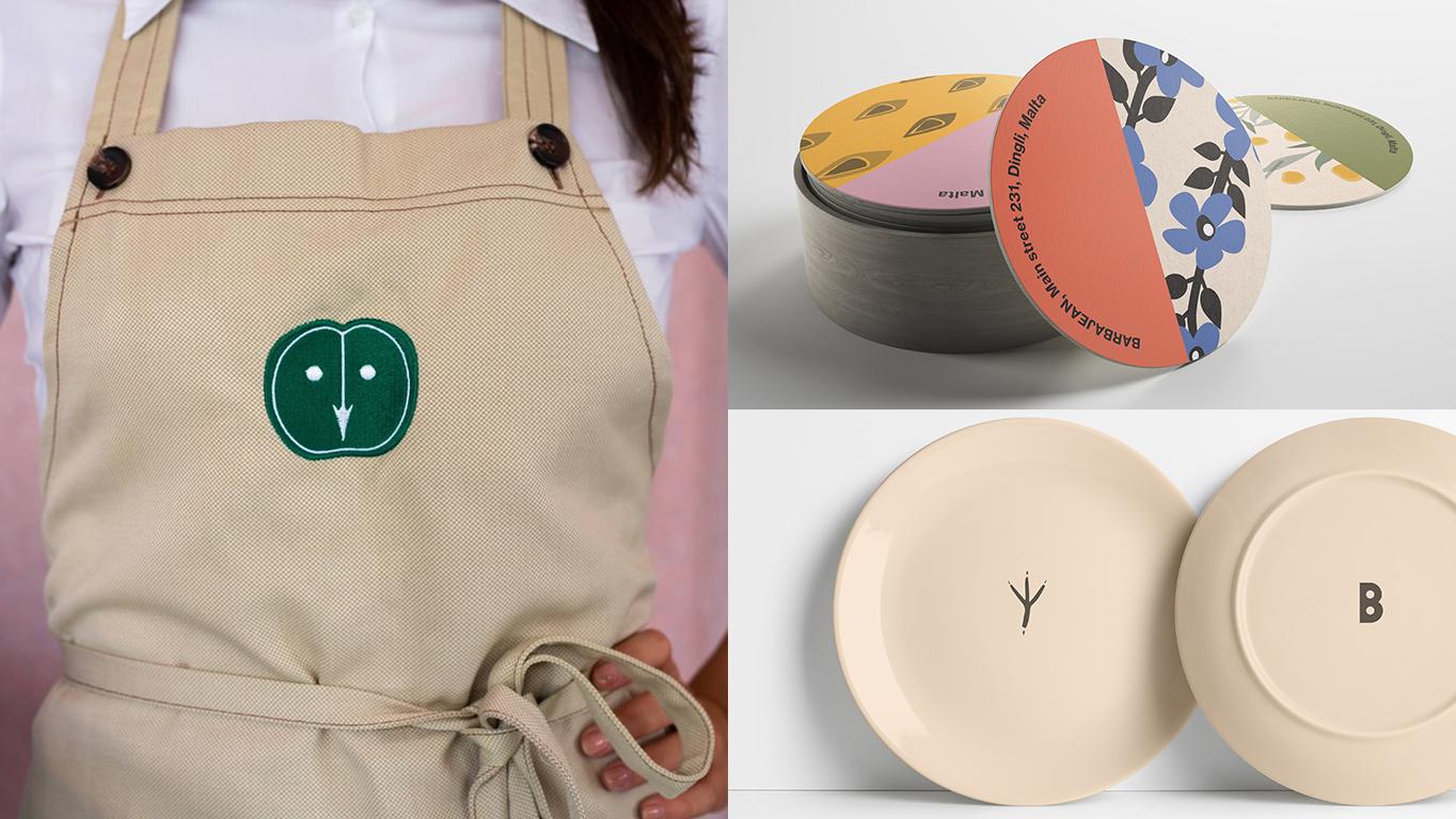 barbajean brand collateral design