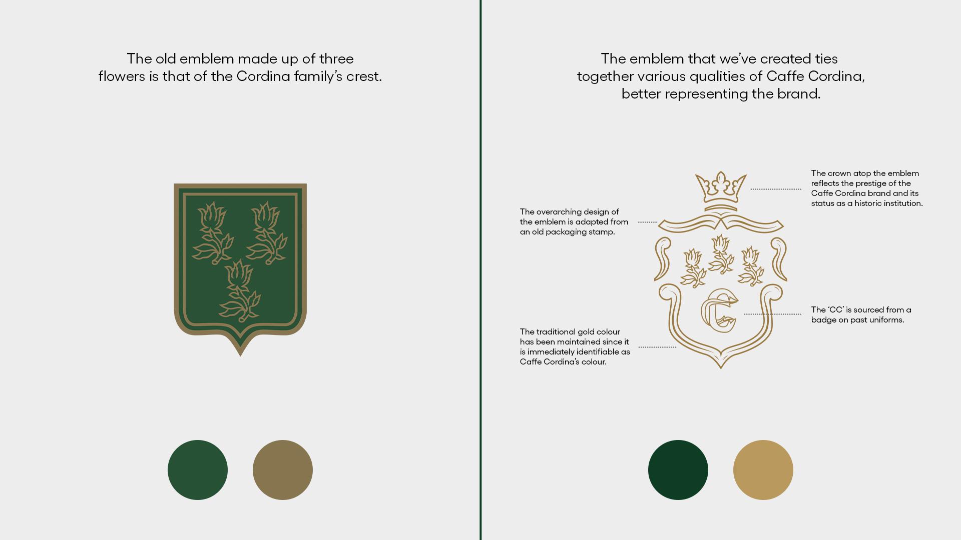 brand creation - family crest